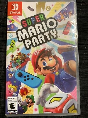 Super Mario Party Nintendo Switch Game Sealed Brand New
