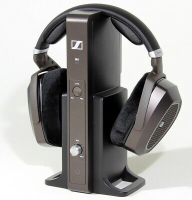 Sennheiser RS 185 Headband RF Wireless Headphone System Brown 505564