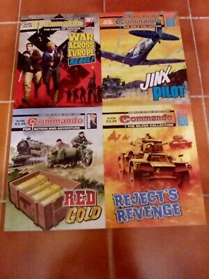 Commando Comics Numbers  5203 5204 5205 5206   BRAND NEW  FREEPOST!