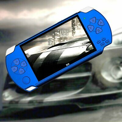 Handheld Game Console Screen Player Real 8gb For X6 PSP Game Camera Video HK