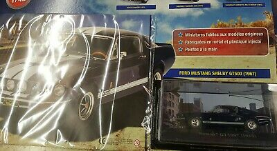 Ford Mustang Shelby American Cars-1/43- Ford Mustang Shelby gt500-Altaya1