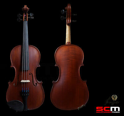 Gliga II 4/4 Violin Dark Antique finish Professional Setup Hand Made in Romania