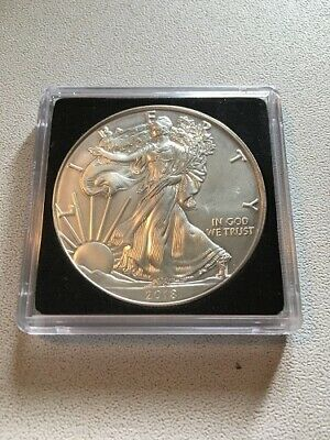 1 dollar 2018 silver eagle once argent silver .999 Etat Unis ounce oz