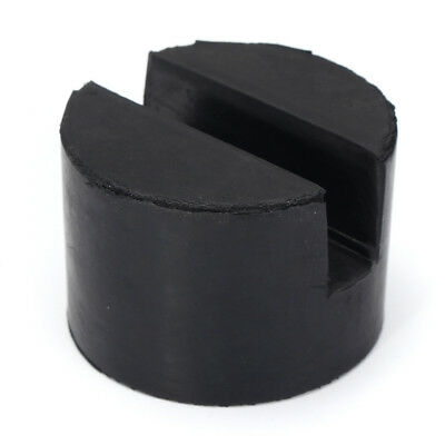 Trolley Floor Jack Disk Rubber Pad with Slots For Pinch Weld Side JACKPAD 50mm