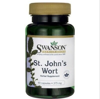 SWANSON ST JOHNS W 375 mg x 60 CAPSULES