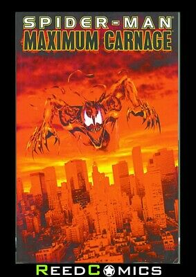 SPIDER-MAN MAXIMUM CARNAGE GRAPHIC NOVEL (336 Pages) New Paperback