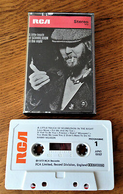 Harry Nilsson - A Little Touch Of Scmilsson In The Night Original Rare Cassette
