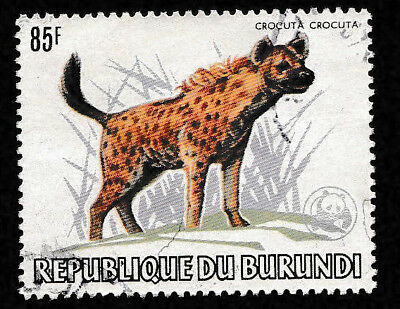 BURUNDI,  Animal Protection Year 1983,   85f used, much sought after
