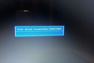 Acer  10 Digits Code Bios Password Removal