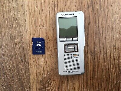 Olympus Diglital Voice Recorder DS-2400 +2GB SD Card