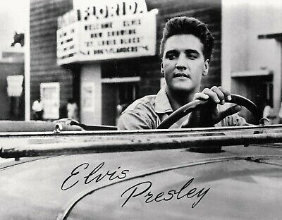 ELVIS PRESLEY KING OF ROCK & ROLL 8x10 Prints RARE 3 PRINTS COLLECTIBLE  Gift Set