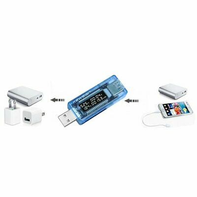 """0.91"""" LCD Screen USB Charger Capacity Power Current Voltage Detector Tester☼★"""