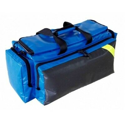 LINE2design Deluxe Impervious Oxygen Bag Fully Padded with Shoulder Strap Blue