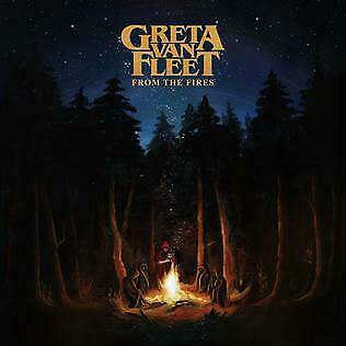 From the Fires by Greta Van Fleet CD New