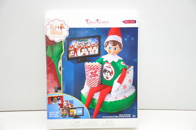 The Elf on the Shelf Claus Couture Collection Exclusive Merry Movie Night New