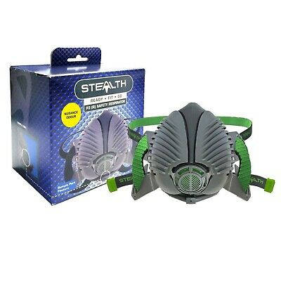 Stealth Reusable Safety Mask P3 Safety Respirator Half Face Mask Small / Medium