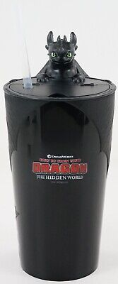 New Dreamworks How To Train Your Dragon 3 Night Fury Toothless 22oz Cup Mug