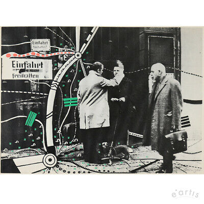 Peter Brüning Original Grafik 1967 Strassenszene Pop Art Limitiert Vp: 1170,-€*