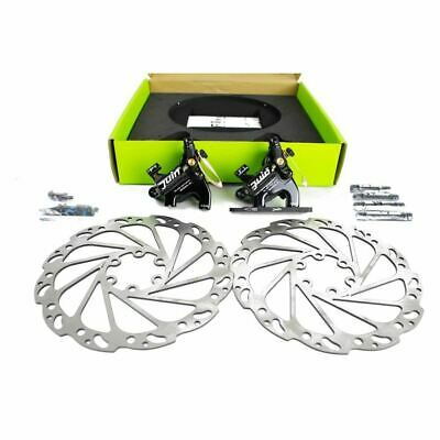 Juin Tech F1 Hydraulic Cable Pull Disc Brake Set - Flat mount - Cyclocross/Road