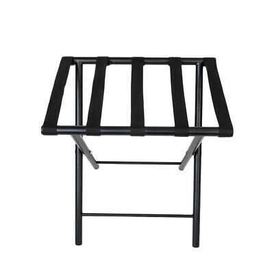 Portable Folding Luggage Rack Suitcase Stand Hotel Travel Metal Storage A8L9