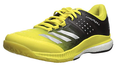 sale retailer 410a7 0abbd Adidas Womens Crazyflight X Volleyball Shoes YellowBlack BA9267 Multiple  Sizes