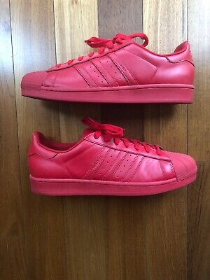 the latest 103ed ff3ab Adidas Superstar Supercolor Pack Pharrell Williams Red Size 13