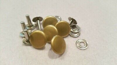 Lot de 5 boutons  pression militaire  ( 15 mm  Fab Daude Paris )