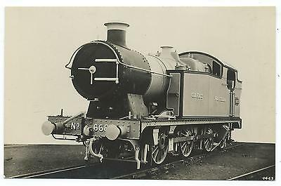 GREAT WESTERN RAILWAY - GWR Steam Loco no. 6685  Moore Real Photo Postcard