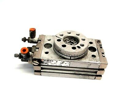 SMC MSQB10A Rack And Pinion Pneumatic Rotary Table 10mm Bore