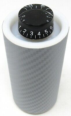 SPL CARTEL MOUNTABLE BASS KNOB SILVER CARBON FIBER WITH RCA LEADS AMPLIFIER