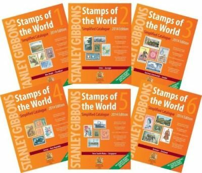 Stanley Gibbons Stamps of the World Catalogue 2014. Volume 1-6 & BONUS | PDF