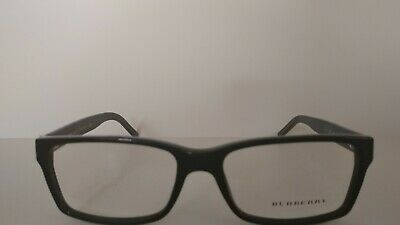 32b111891bc BURBERRY B 2108 3001 Black RX EYEGLASSES AUTHENTIC FRAME RX 54-16-140