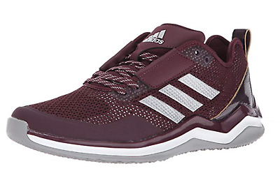 separation shoes b198d c116c adidas Speed Trainer 3 Shoes Maroon Metallic Silver White Baseball Mens NEW  12