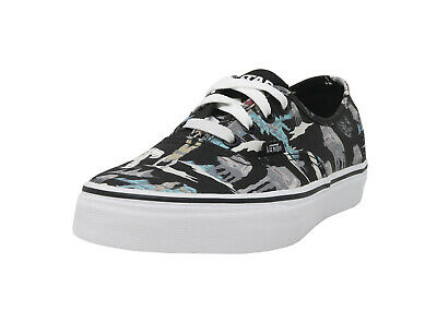 VANS Authentic Star Wars Black Canvas Lace Up Fashion Sneakers Adult Men Shoes