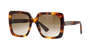 33f00befd7 NEW AUTHENTIC* GUCCI GG0418S 003 HAVANA FRAME,BROWN GRADIENT LENSES ...