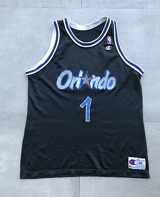 e49eb7aed30 VTG 90S NBA Orlando MAGIC Tracy McGRADY Sewn Jersey NIKE   No Swoosh ...