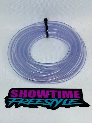 """Clear Fuel-Gas-Line-Hose 1//4/"""" O.D PWC Motorcycle Jet-Ski Sold x Foot 1//8/"""" I.D"""