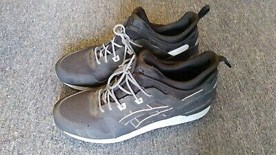 7e225176d9a8 Asics GEL-LYTE MT Black   Grey Reflective Sneaker Boot H6K1L Size 14 US Mens