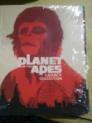 Planet of the Apes Legacy Boxset 5 Discs Blu Ray New/Sealed~FREE SHIPPING!!