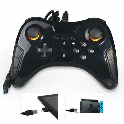 Wired Game Controller Wired Handle Ns Gamepad For Nintendo Joy-con For Dobe HK