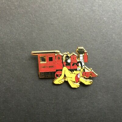 DLR - Disneyland Railroad - Pluto with Ernest S. Marsh Disney Pin 68114