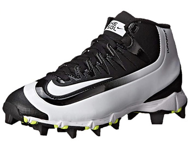 433c5f925f9dc Nike Kids  Huarache 2KFilth Keystone Mid Baseball Cleats Black Size 1.5Y NEW