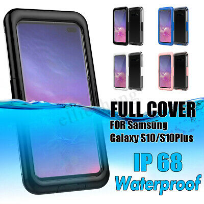 Waterproof Shockproof Dirt Proof Case Cover Rope For Samsung Galaxy S10/S10 Plus