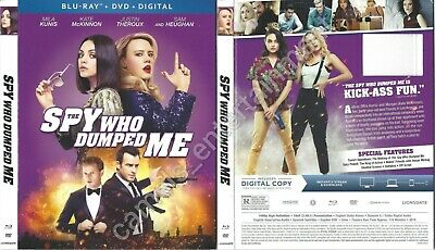 The Spy Who Dumped Me (Blu-ray SLIPCOVER ONLY * no movie included)