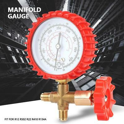 New Air Condition Manifold Gauge Manometer& Valve for R12 R502 R22 R410 R134A
