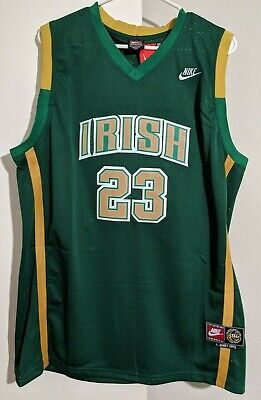 NWT LeBron James  23 St. Vincent St. Mary High School Jersey Lakers  Basketball 304e3b936