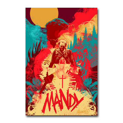 MANDY Movie Poster Canvas Silk Wall Art Living Room Decor Print 12x18 24x36 inch