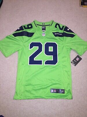 c87a253cc2d Earl Thomas III Seattle Seahawks Nike Color Rush Limited Jersey Stitched Sz  S