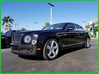 2016 Bentley Mulsanne Speed 2016 Speed Used Turbo 6.8L V8 16V Automatic RWD Moonroof