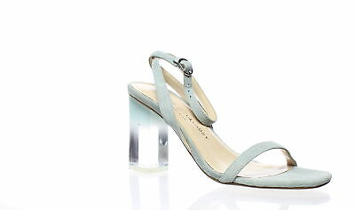 b5749885d5b Chinese Laundry Womens Shanie Blue Suede Ankle Strap Heels Size 7.5 (173841)